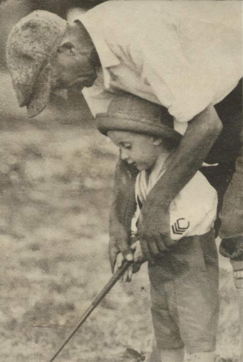 Alfred John Ward and James Joseph Ward, 1923, Pleasant Run Golf Course, Indianapolis